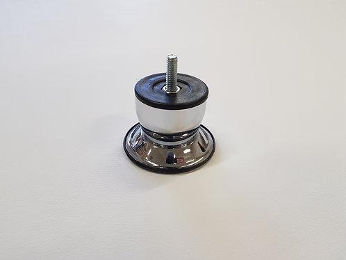 Krómozott bútorláb (5 cm)