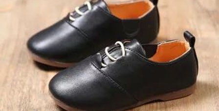 Formal Leather Shoes-Black