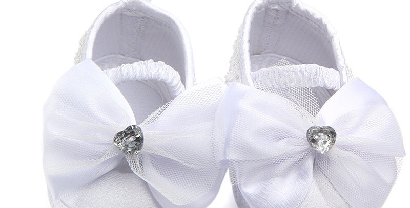 Flower Girls' Shoe with Bowknot