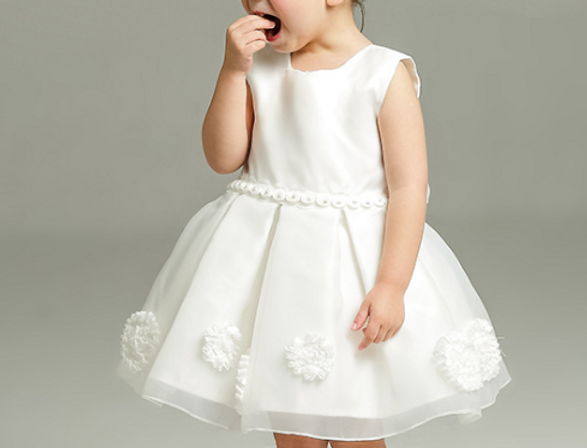 Pure White Princess Dress