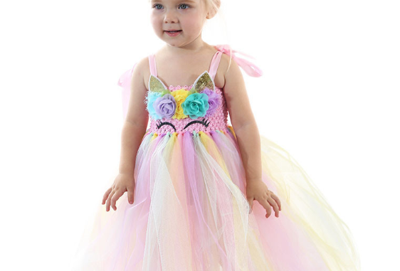 Lace Layer of Flower Girl Lunlun Dress