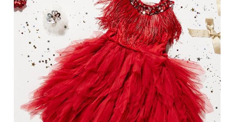 Swan Queen Tutu Dress- Red