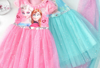 Elsa Princess Frozen Dress