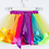 Thumbnail: Rainbow Colorful Lace Layer of Lunlun Dress