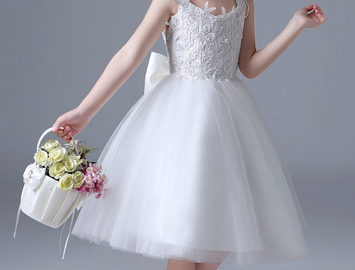 Lace Layer of Flower Girl Short Dress