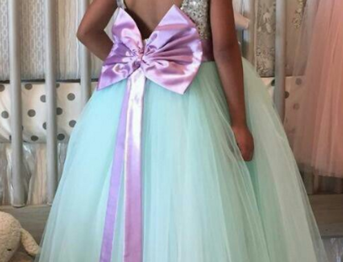 Shinning Bow Dress
