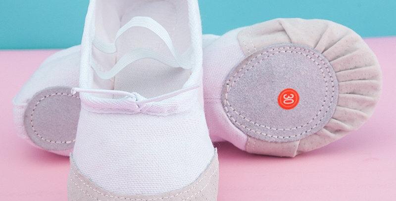 Soft Dancing Shoe - white