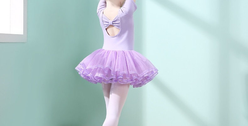 Ballerina Multi-layers Tutu Dress -Purple