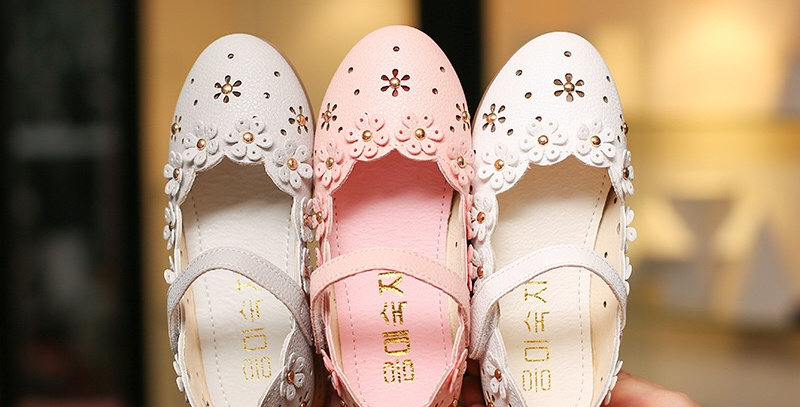 Formal Soft Flower Girls Shoes