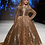Thumbnail: Golden Belle Shinny Long Dress