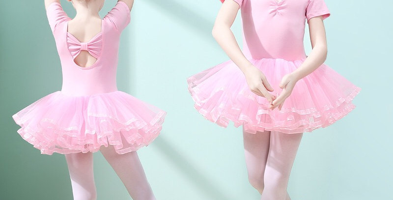 Ballerina Multi-layers Tutu Dress -Pink