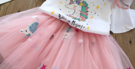 Two-price Unicorn Rainbow Dress