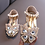 Thumbnail: Butterfly rhinestones children  shoes