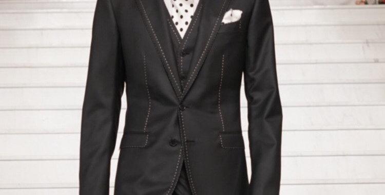 Wedding Tuxedo Black Boy Suit