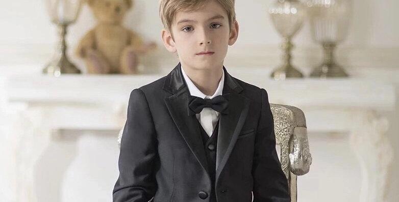 Black Cocktail Suit for Boy