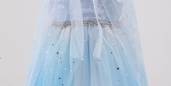 Frozen princess dress
