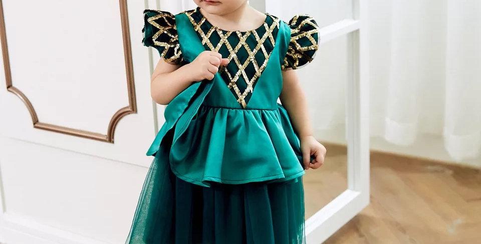 Forest Green Christmas Tulle Tutu Skirt