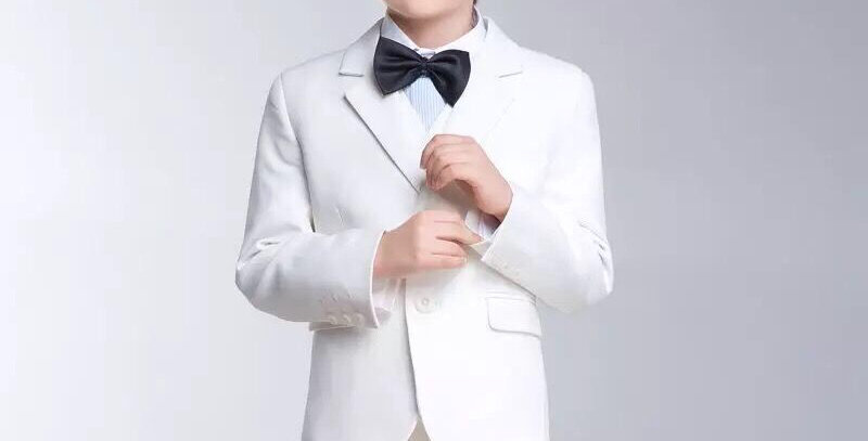 White Flower Boy Formal Suit