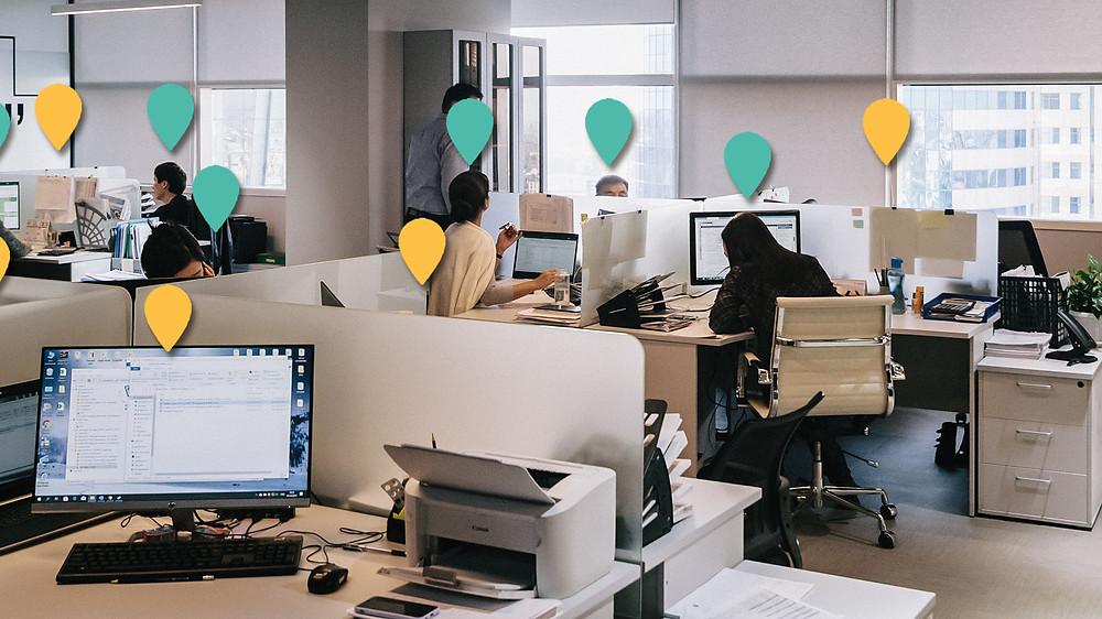 Desk usage
