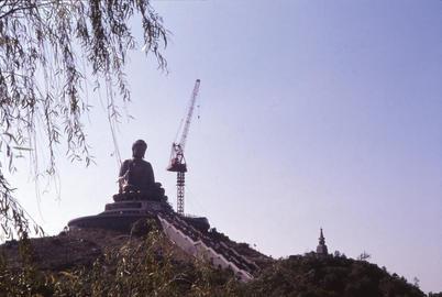 The Big Buddha under Construction