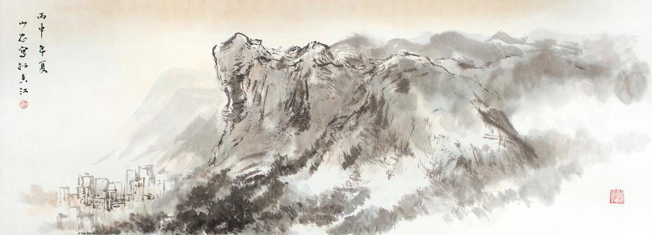 At the foot of Lion Rock, Hong Kong