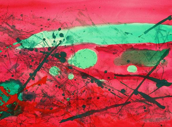 紅與綠 (中聯) 2000 76x56 cm.jpg