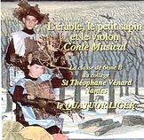 Conte musical, crabouille, érable, quatuor liger, musique, violon, écriture