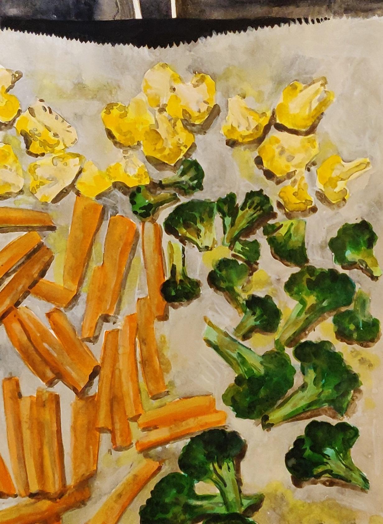 Oven vegetables