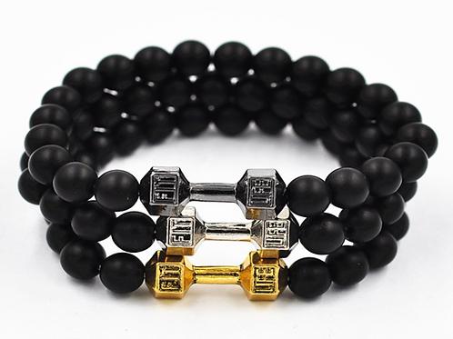 Black Triple Bracelet