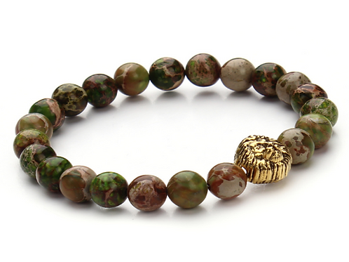 Green Lion Bracelet