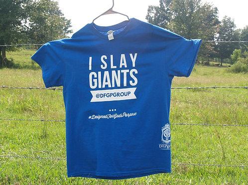I Slay Giants Blue