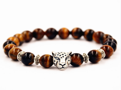 Brown Panther Bracelet