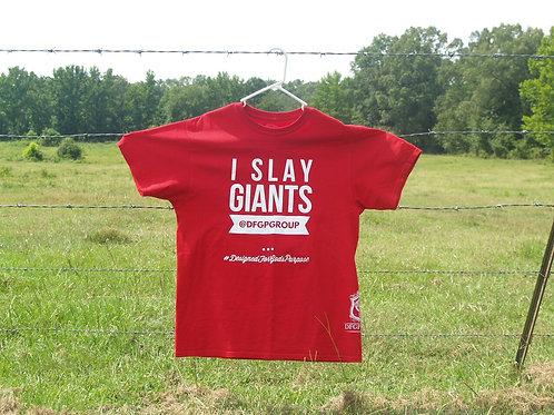 I Slay Giants Red