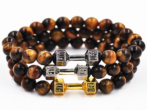 Brown Triple Bracelet