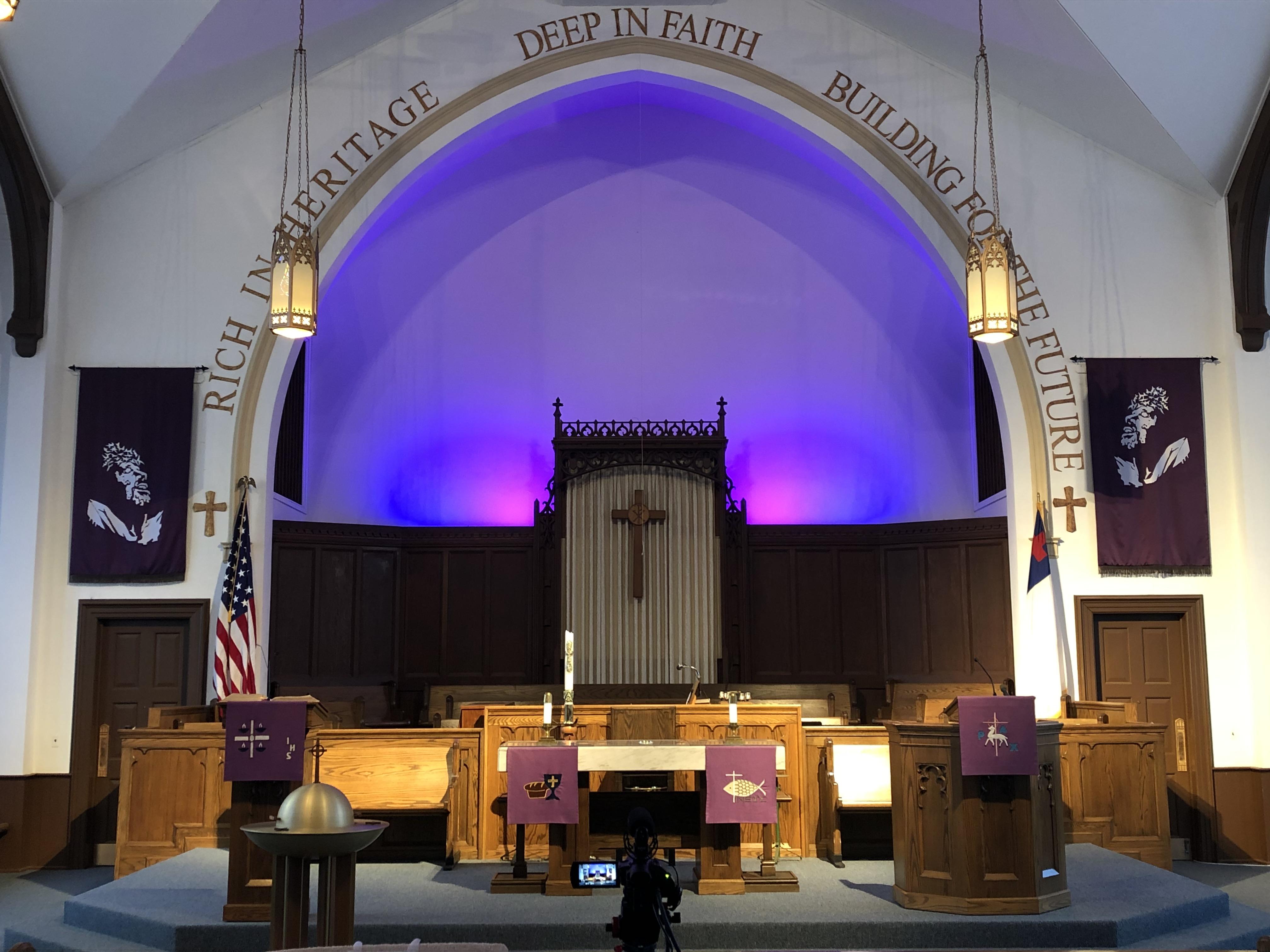 Altar During Lent