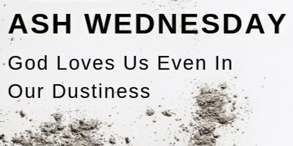 Ash Wednesday Online Service