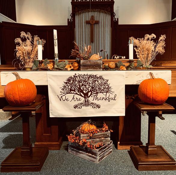 Zion Thanksgiving 2020