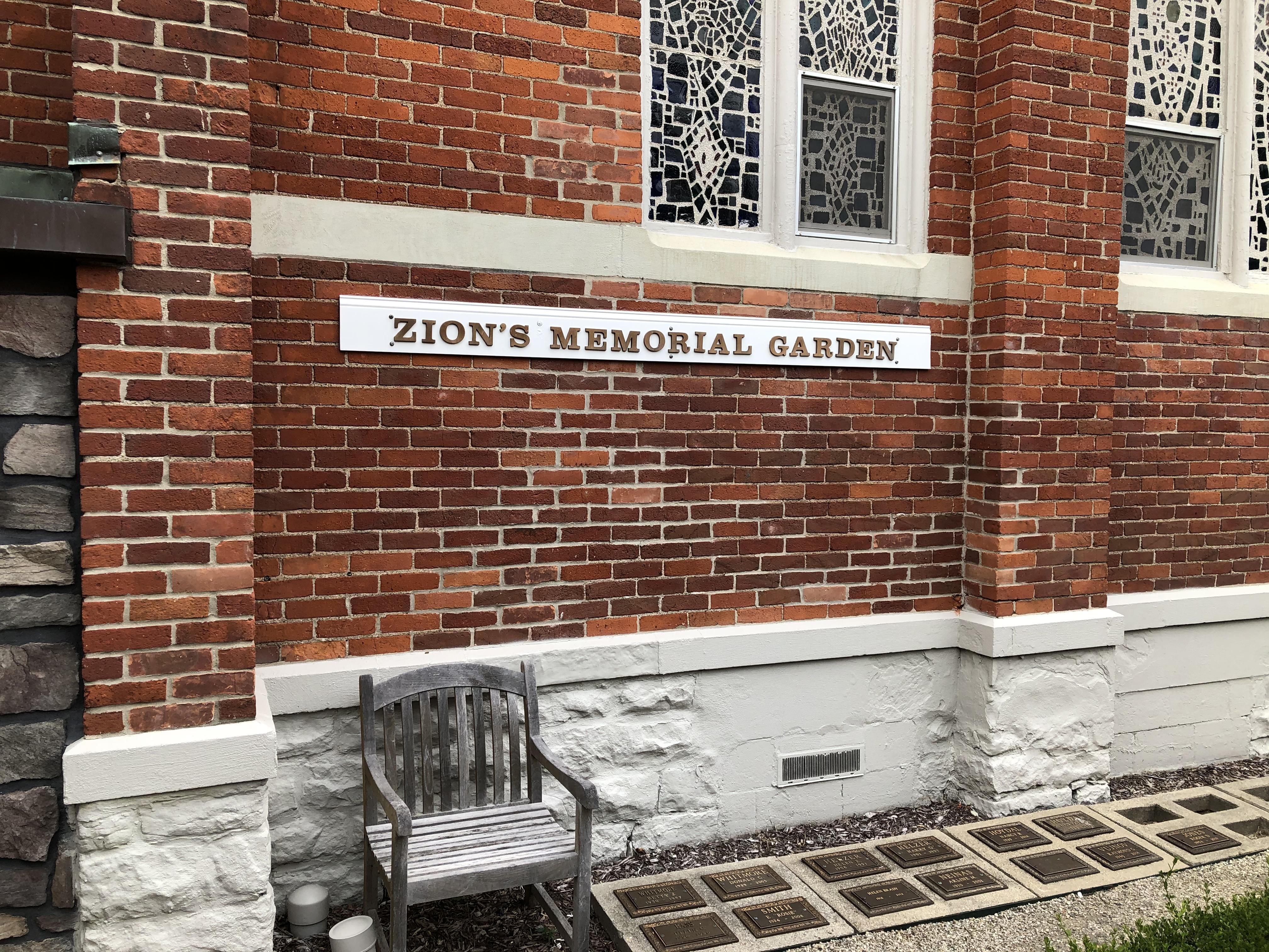Zion's Memorial Garden