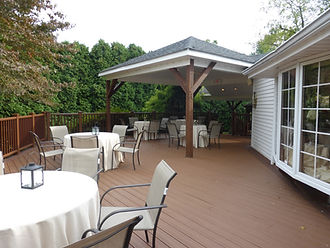 Outdoor Wedding Deck and Patio