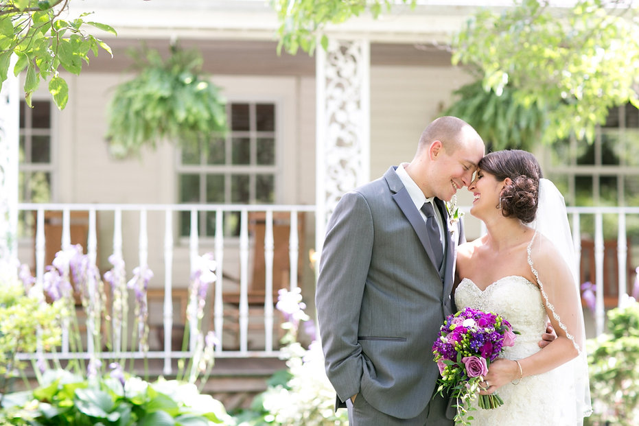 Outdoor Wedding Front Porch