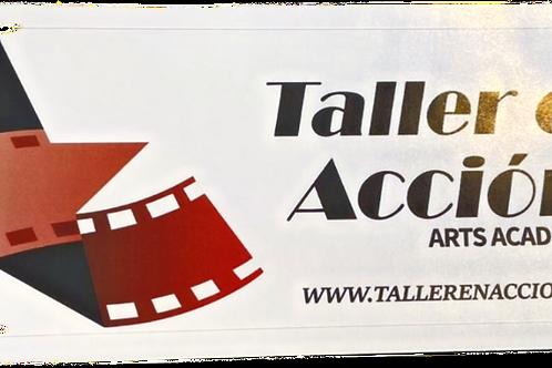 Taller En Accion-Bumper Stickers
