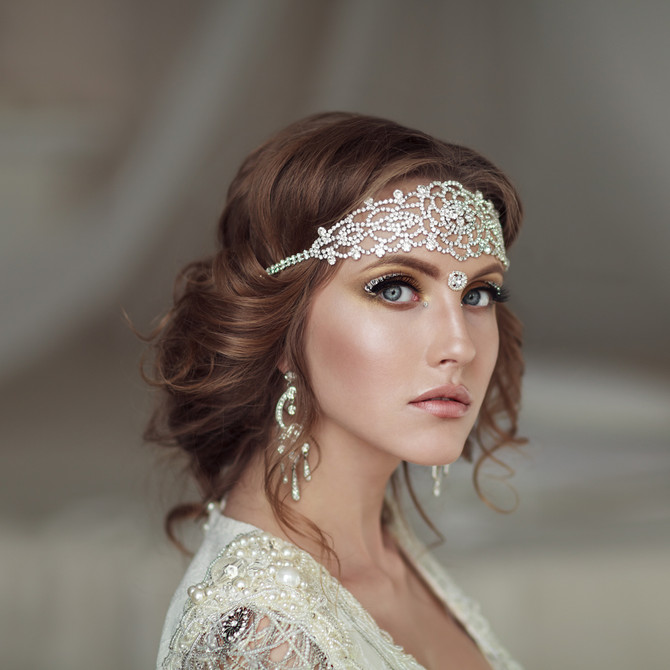 Bridal Hairstyle For A Royal Wedding