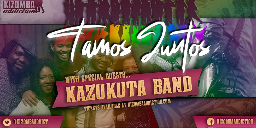 Kazukuta @ Tamos Juntos - Londons No.1 Friday Night Spot For Kizomba Classes & Party