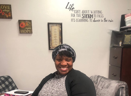 What's it like being a woman working in a men's homeless shelter?