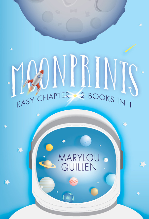 MOONPRINTS (Easy Chapter / 2 Books in 1)