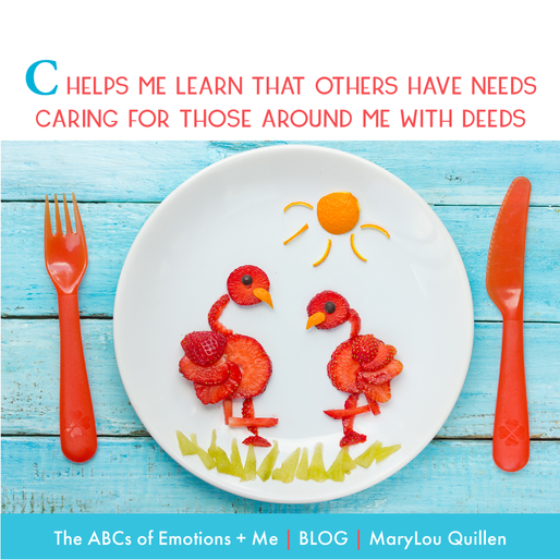 The ABCs of Emotions + Me: C is for Caring