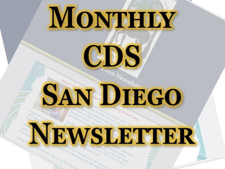 May 2020 CDS San Diego Newsletter