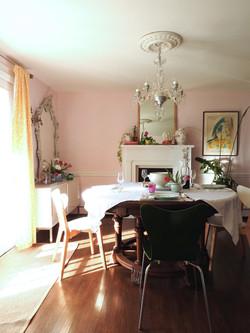 middleton pink dining room