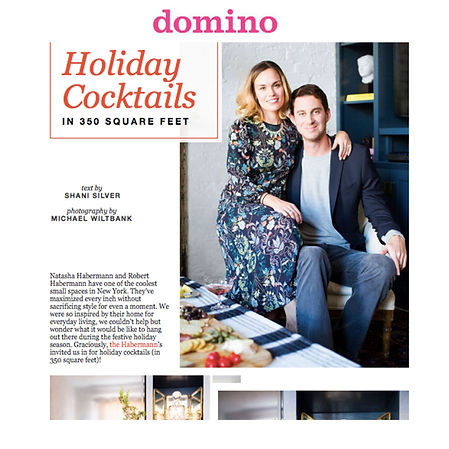 NATASHA HABERMANN INTERIORS FEATURED ON DOMINO
