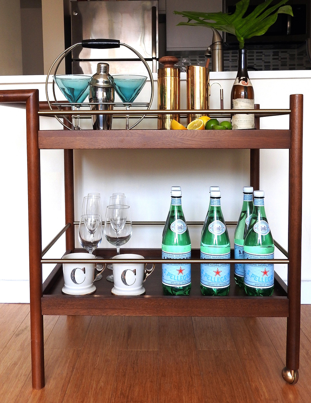 VINTAGE BAR CART STYLING